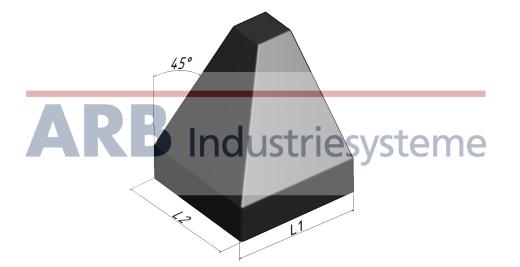 verbinder abdeckkappe 8 40x40 45 item profil kompatible profile. Black Bedroom Furniture Sets. Home Design Ideas