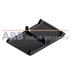 Winkel-Abdeckkappe 8 40x40  schwarz