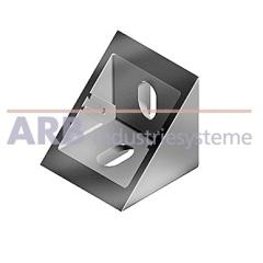 Winkel 6 30x30 Zn  weißaluminium ähnlich RAL 9006