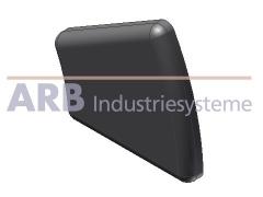 Abdeckkappe 5 R20/40-30°  schwarz