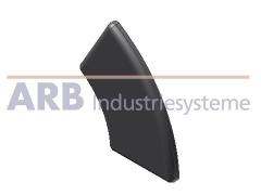 Abdeckkappe 5 R20/40-60°  schwarz