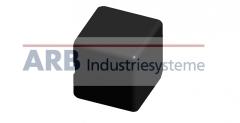 Verbinder-Abdeckkappe 5 20x20x20  schwarz