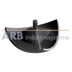 Verbinder-Abdeckkappe 6 R30-90°  schwarz