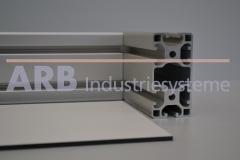 Vollkunststoff 4mm  grau ähnlich RAL 7035