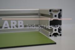 Vollkunststoff 4mm  grün ähnlich RAL 6000